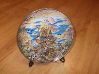Franklin Mint Noah's Ark Plate