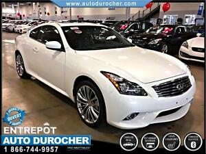 2013 Infiniti G37 Coupe XS AUTOMATIQUE 4X4 CAMERA RECUL CUIR TOI