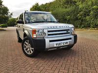 2007 Land Rover Discovery 3 GS A 2.7TDV6 Auto*7Seats*Service history+Cam Belt don*Read me*Park aid*