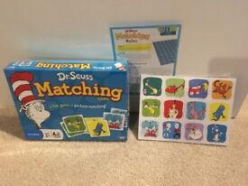 Dr Seuss Matching Game (brand new)