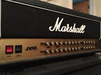 Marshall JVM410H Amp Head - Nr Perfect Condition £550