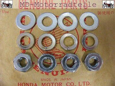 Honda CB 750 Four K0 K1 K2 - K6 K7 Anbauteile Set für Vorderachsklemmen