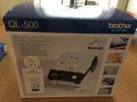 Brother QL500 label printer