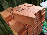 Red clay pavers.