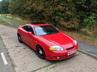 LOW MILEAGE 81k Hyundai Coupe 2L with Full Service History & MOT
