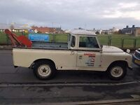 Land Rover Series 2A. 1961 Pick Up with Crane.