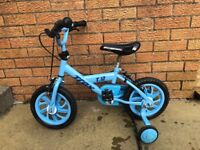 "Boys bike 12"" with stabilisers good used condition"