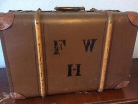 Pre war suitcase