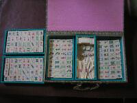 Mahjong Bone and Bamboo Set