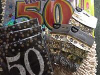 50th Birthday Joblot/Bundle