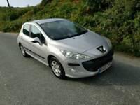 09 Peugeot 308 1.4 petrol manual Full mot low mileage