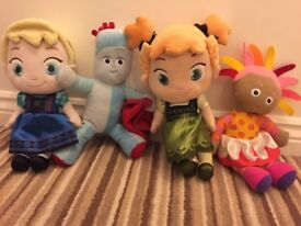 In the Night Garden and Frozen (bundle toys)