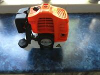 New and unused Strimmer or Brush Cutter Petrol Engine complete with Clutch, Carb, Fuel tank etc