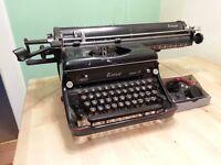 Vintage Everest Typewriter Rare Wide Carriage Model
