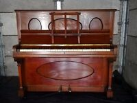 FREE Rubenstein Upright piano - Repair/restore project - does not play