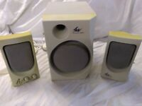 Multimedia PC speakers and Subwoofer