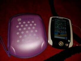Pink LeapPad 2 with case and charger