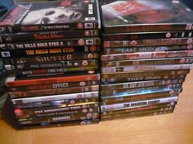 job lot horror dvds