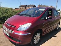 Citroen Xsara Picasso 1.6 HDi Desire 5dr tested till 2018 FSH STUNNING EXAMPLE diesel mpv