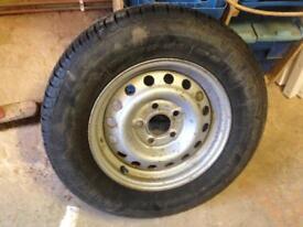 Caravan , motor home spare wheel 195/70 14
