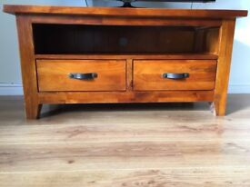 Solid wood TV Cabinet in good condition.