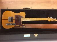 "Early 1980's Hohner ""The Prinz"" Electric Guitar & Hard Case (RARE)"