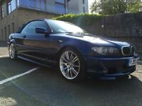 BMW 330 CI CONVERTIBLE M SPORT - FACELIFT MODEL, NICE CAR IN BLUE WITH ALLOYS & LEATHER