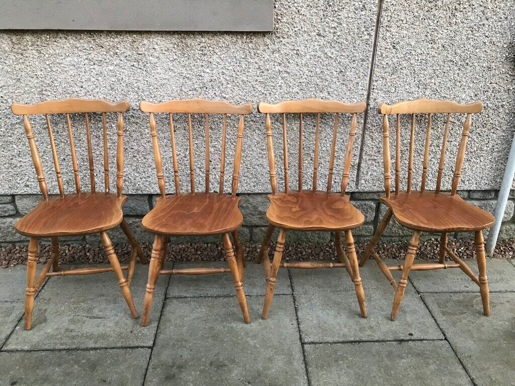 Farmhouse Kitchen Chairs 4 In Carnoustie Angus Gumtree