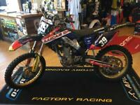 2008 Honda CRF 250 excellent condition four-year ready to ride