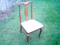 SINGLE HARDWOOD DINING CHAIR