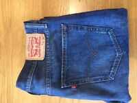 Mens Blue Levi 501's Used good condition