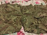 Trouser combat temperate weather MTP USED