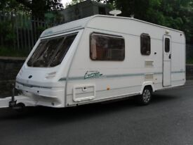 Sterling Europa Four Berth Touring Caravan