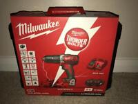 Milwaukee Combi Drill M18-bpdn-402c brand new