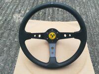 Abarth steering wheel