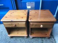 Pair of ducal pine bedside cabinets FREE DELIVERY PLYMOUTH AREA