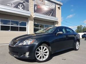 2010 Lexus IS 250 AWD, JAMAIS ACCIDENTÉ, 50 905KM!!!