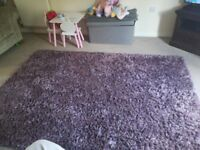 Large Purple Rug as good as new