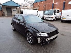 AUDI A3 8P 1.6 TDI FACELIFT BREAKING SPARES PARTS SALVAGE SPORT S-LINE GREY BLACK