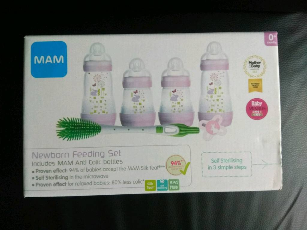 Mum 6 piece newborn feeding set