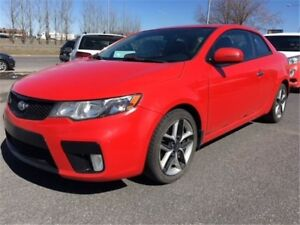 2011 Kia Forte Koup 2.4L SX - LEATHER SEATS, BLUETOOTH, SUNROOF