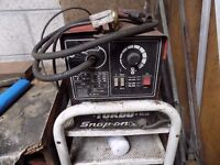 SNAP ON MIG 130 TURBO WELDER SPARES OR REPAIRS BUYER COLLECTS