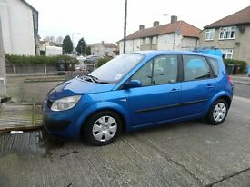 Renault scenic Expression, very Low mileage, No issues