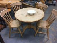 Pine table& Chairs