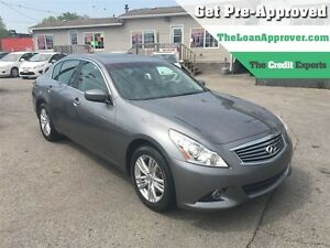 2012 Infiniti G37X Sport | LEATHER | ROOF | AWD | CAM London Ontario image 1