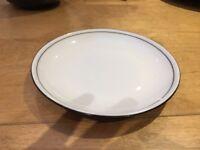 Denby 'Black' Side Plate