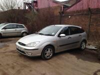 Ford Focus 1.6 02plate breaking for spares