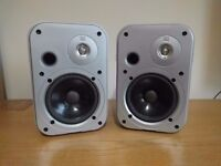 JBL Control One Speakers, Silver - Great Condition, No Covers £60