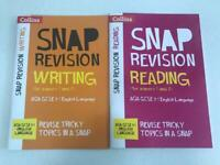 Writing & Reading (for papers 1 and 2): AQA GCSE English Language (Collins Snap Revision)