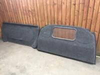 Vw transporter t5 bulk head carpeted Comes in 2 peace